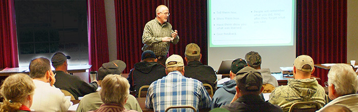 Free ag safety and health workshops